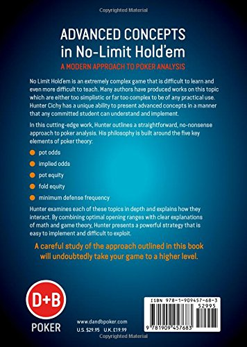 Advanced Concepts In NoLimit HoldEm A Modern Approach To Poker
