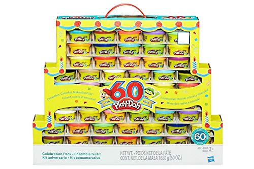Halloween Play Doh Pack (Play-Doh 60th Anniversary Celebration Pack (60)