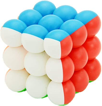 Toy Arena Presents All in one Trendy Orignal YJ Round Ball 3x3x3 Magic Cube High Stability Speed and Smooth Stickerless Magic Puzzle Rubiks Cube (3x3 Yj RoundCube)