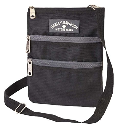 Harley Davidson X-Body Sling Backpack, Black, One (Harley Davidson Designs)