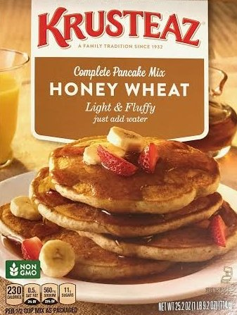 Krusteaz Honey Wheat Complete Pancake Mix 25.2 oz. (Pack of 2) ()