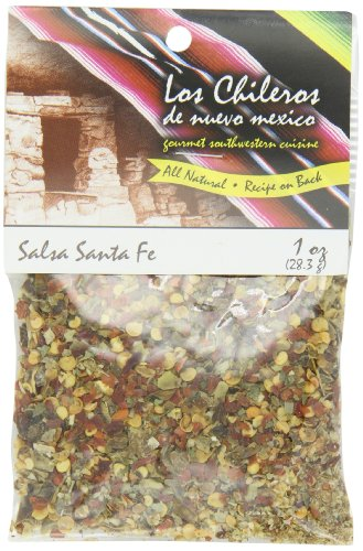 Los Chileros Salsa Santa Fe Mix (Red & Green), 1-Ounce Packages (Pack of 12) ()