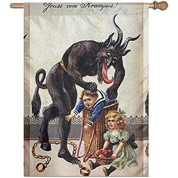 Amazon.com: MINIOZE Christmas German Gruss Vom Krampus ...