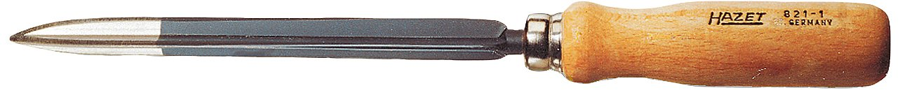 Hazet 821-1 Hollow three-square scraper 150mm