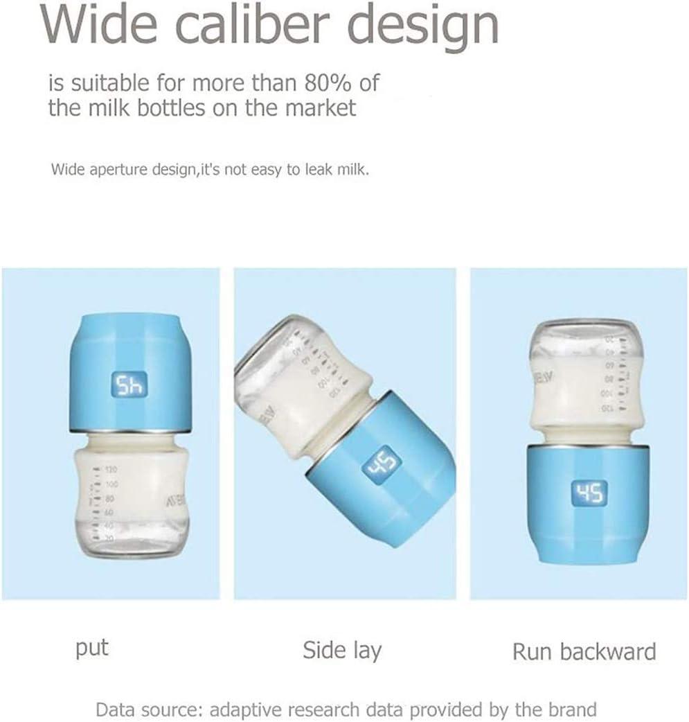 Rostfreier Stahl Reise Flasche W/ärmer Elektrisch Baby Milch W/ärmer Multifunktional Essen W/ärmer,Rosa LTOOTA USB Tragbar Baby Flaschenw/ärmer Eingebaute Lithium Batterie