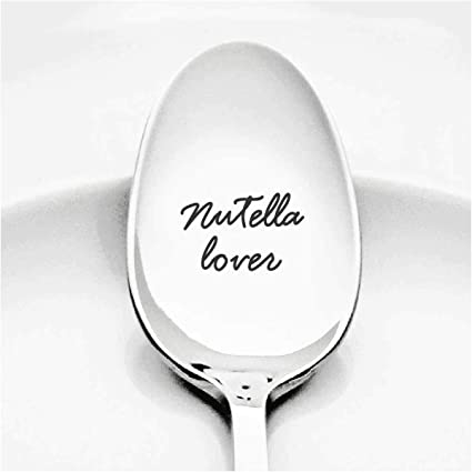 nutella lover gifts peanut butter spoon gifts birthday gifts for chocolate lovers husband