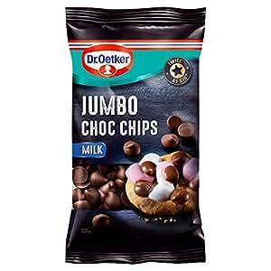 Dr Oetker Jumbo Milk Chocolate Chips 125G