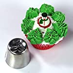 """Christmas Russian Icing Piping Cake/Cupcake Decorating Tips/Kit Set Party Supplies/Decorations 13 Package Include - 15 lovely designed icing piping cake decorating tips + 20 disposable pastry bags (2 sizes) + 1 tri-color couplers + 1 mini brush.37 pcs total. Size - Each cake decorating nozzles kit measure 1.5""""(W) x 1.61""""(H). Material - Made of high quality stainless steel, will never rust,safe and sanitary."""