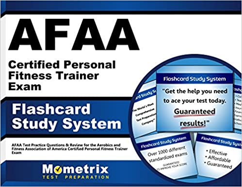 Afaa certified personal fitness trainer exam flashcard study system afaa certified personal fitness trainer exam flashcard study system afaa test practice questions review for the aerobics and fitness association of fandeluxe Gallery