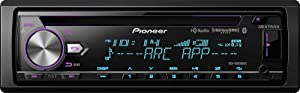 Pioneer DEH-X8800BHS CD Receiver with MIXTRAX, Bluetooth, HD Radio and SiriusXM Ready