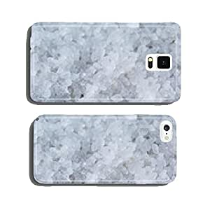 close up photo of sea salt crystals cell phone cover case Samsung S5