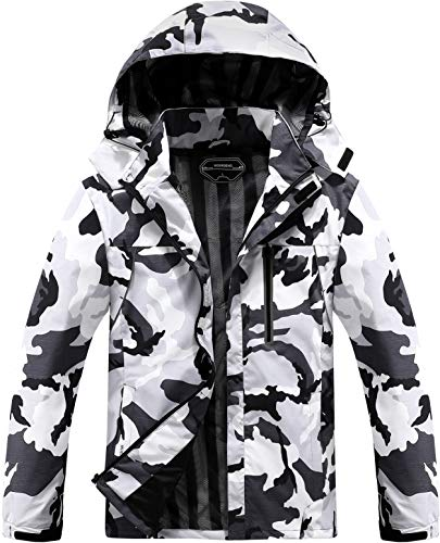 Men's Lightweight Windbreaker Rain Jacket Waterproof Breathable Coat