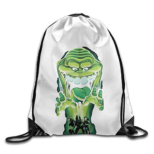 [Bekey Ghostbusters Drawstring Backpack Sport Bag For Men & Women For Home Travel Storage Use Gym Traveling Shopping Sport Yoga] (Lightning Strike Costume)