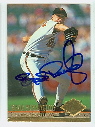 Brad Pennington AUTOGRAPH 1994 Fleer Ultra Baltimore Orioles ()