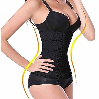 SLTY Women's Waist Trimmer Tummy Control Cincher Waist Trainer Hourglass Girdle Body Shapewear
