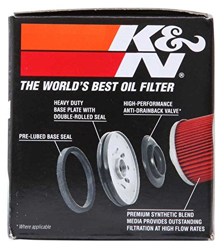 K&N KN-204C Powersports High Performance Oil Filter by K&N (Image #7)