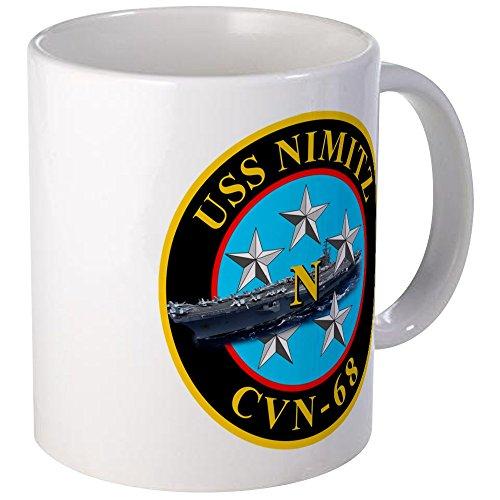 CafePress - USS Nimitz CVN-68 Mugs - Unique Coffee Mug, 11oz Coffee Cup (Uss Nimitz Coffee Cup compare prices)