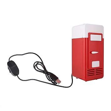 Garsent Refrigerador USB, Mini refrigerador Refrigerador portátil ...