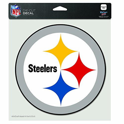 - WinCraft NFL Pittsburgh Steelers Die-Cut Color Decal, 8