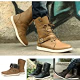 Fashion New Men's Winter High-top Army Combat