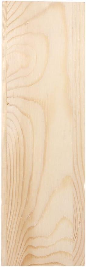 HelloCreate Molde de silicona para jabón, caja de madera, rectángulo de silicona, molde de jabón, caja de madera para hacer velas de jabón, pasteles, ...