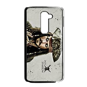 HGKDL Jack Sparrow Design Personalized Fashion High Quality Phone Case For LG G2