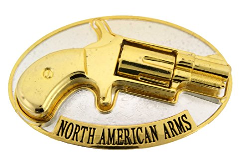 - Gun Bullets Belt Buckle Metal Costume Fake Fashion Halloween Rock Rebel Gift New (North American Arm Co)