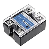 uxcell TRT-1-D220D10 DC 3-32V to DC 24-220V 10A Single Phase Solid State Relay Module DC to DC
