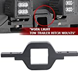 beetle tow bar - QuakeWorld Tow Trailer Hitch Mounting Mounts Light Bracket Fit Cube/Pod LED lights Backup Reverse Lights Rear Search Lighting Off-Road Work Light Bar Lamps For Truck SUV Trailer RV Pickups 4x4