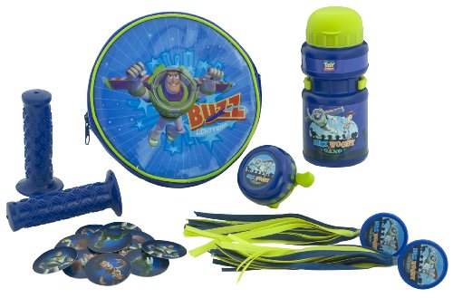 Pacific Cycle Toy Story Bike Accessory Kit (Blue)