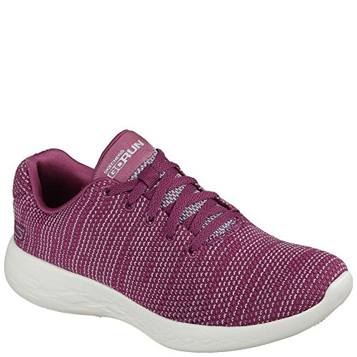 Skechers Performance Women's Go Run 600-Obtain Sneaker,Raspberry,7 M (Raspberry Sport Shoe)