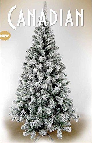 Albero Di Natale Canadian Innevato 120 cm Giocoplast Giocoplast Natale_15162