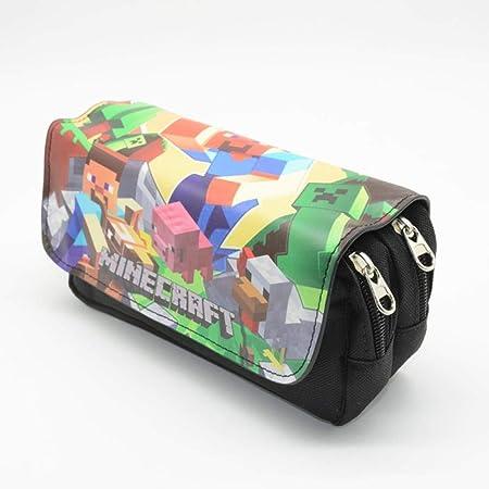 LKJH Estuche de lapices Estuche Escolar para Niñas Roll Up Pouch Suministros De Papelería Portátiles, F: Amazon.es: Deportes y aire libre