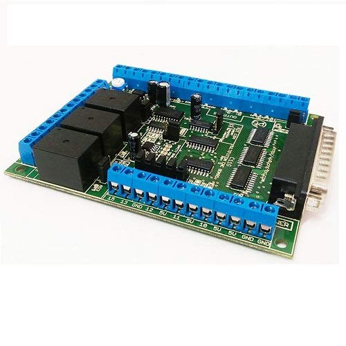 6 Axis Ethernet SmoothStepper Motion Board for Mach3 and Mach4, with C11G,  Relay and Spindle Control