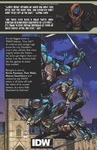 Teenage Mutant Ninja Turtles Volume 6: City Fall Part 1 ...