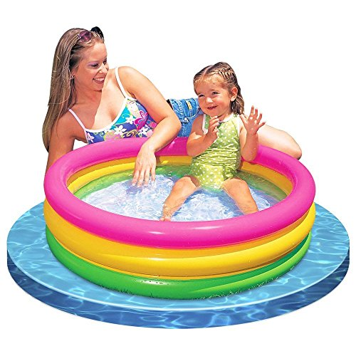 Intex Baby Sunset Glow Pool Game Slide Inflatable Kids Backyard Fun Play Center Summer Outdoor Pool Fun (2)