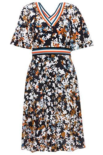 Kleid Damen BOSS für Mehrfarbig 976 Abonny Casual OxwqwgI5T