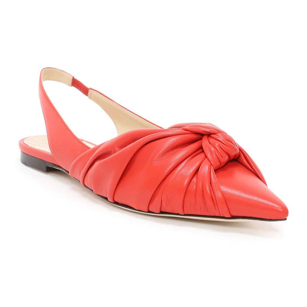 A LFF.FF Chaussures Plates pour Femmes, Sandales - Grande Taille au, à Bouche Peu Profonde - avec Une Seule Paire de Chaussures - Sandales à Un Pied