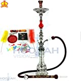 Khalil Mamoon 34'' shisha kahramana single Red pear authentic KM Made In Egypt …