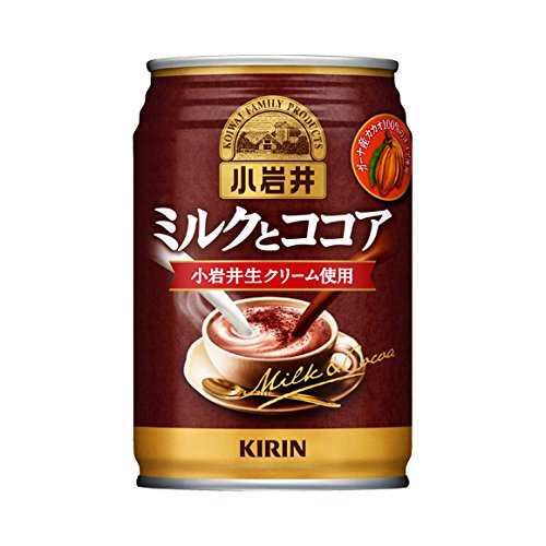 Kirin Koiwai milk and cocoa 280g cans X24 pieces X (2 cases) by Koiwai