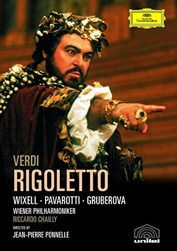 Blu-ray : Luciano Pavarotti - Rigoletto (Blu-ray)
