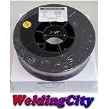 WeldingCity 2 Rolls of ER70S-6 ER70S6 Mild Steel MIG Welding Wire 11-Lb Spool 0.035″ (0.9mm)