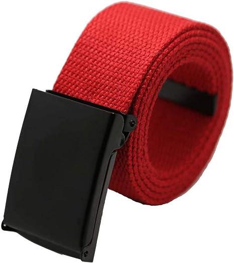 Cintura Unisex Cintura Uomo Tela Pianura Cintura Unisex Cintura in tela 10 Color