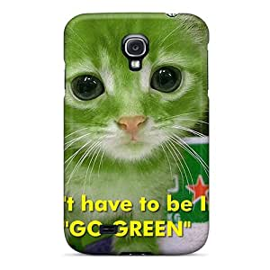 Tough Galaxy TgD4731fcUN Case Cover/ Case For Galaxy S4(you Dont Have To Be Irish To Go Green)