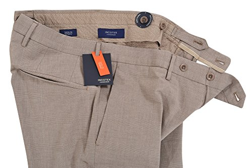 Incotex Pantaloni Uomo 46 grigio / Pantaloni d'affari normale Regular Cut R