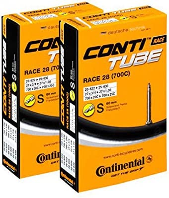 5 X Continental Vélo Race Vélo De Course Tuyau SV 42 mm 28 in 18-25 x 622