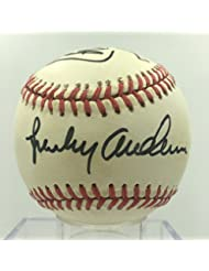 Sparky Anderson Chuck Daly Jacques Demers Detroit Signed Baseball PSA DNA COA