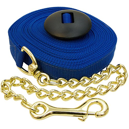Intrepid International Poly Lunge Line with Chain and Rubber Stopper, ()