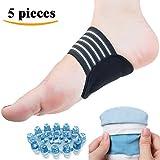 DR JK- Comprehensive Plantar Fasciitis, Arch, Heel & Ankle Support Kit (5 Pcs), Foot Massager Plantar Fasciitis, Plantar Fasciitis Sock, Arch Support, Heel Protectors, Ankle Socks, Heel Pads