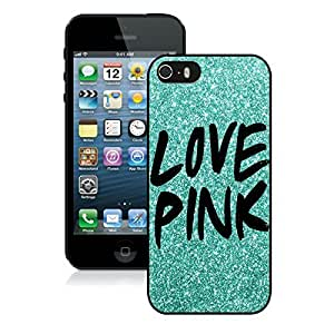 Love Pink Iphone 5 5s Case Black Cover 1